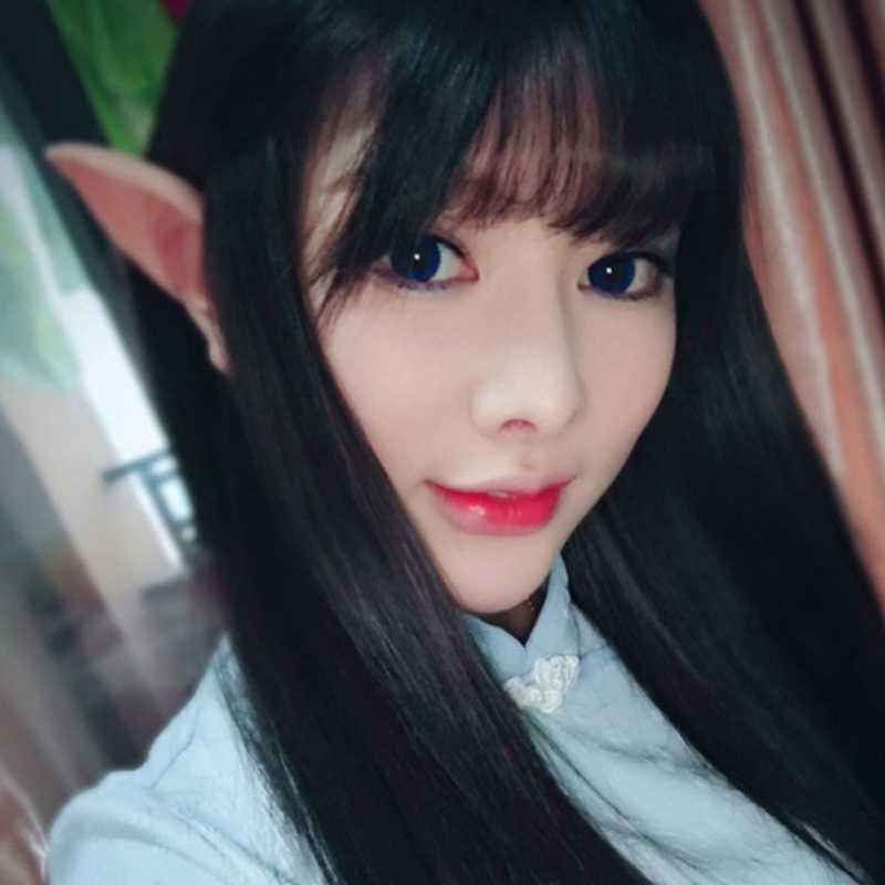 1 paar Halloween Party Elven Elf Oren Anime Fairy Cospaly Kostuums Vampire Latex