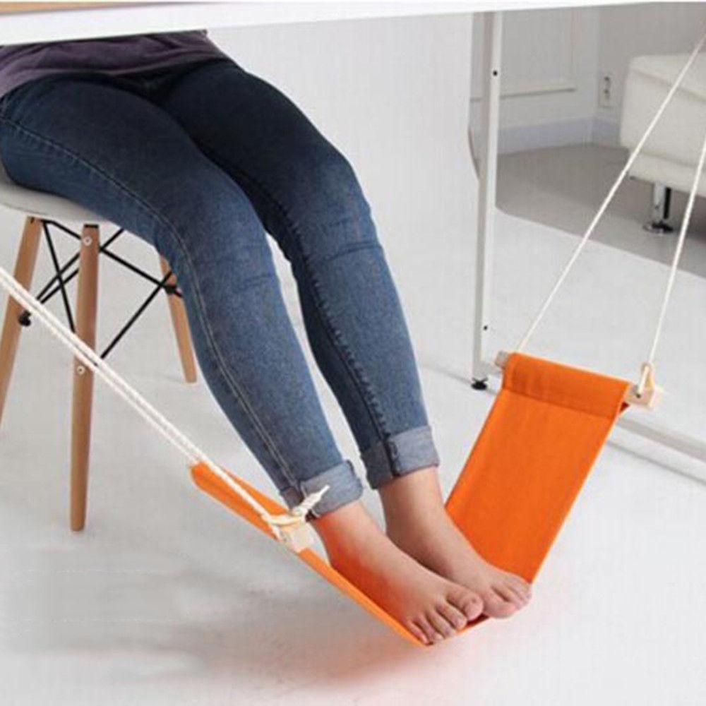 Adjustable Desk Footrest Hammock Table Chair Folding Home