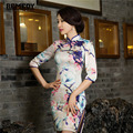 Chinese Style Women Vintage Evening dress HalfSleeve Short cheongsam dress chinese traditional dress qipao Party/evening dresses