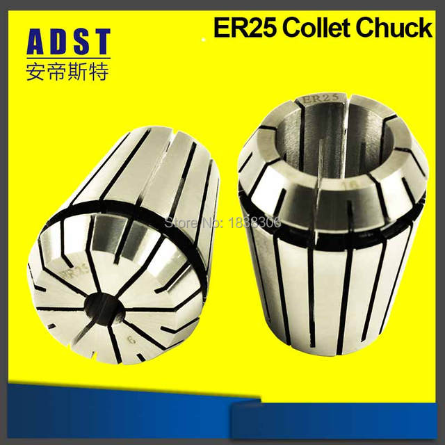 ER Collet Chuck ER25 Spring Collets CNC Machine Drill Chuck 1/8 1/4 3.175 Endmill Milling Cutters Cutting Tools Tool holder 1pcs