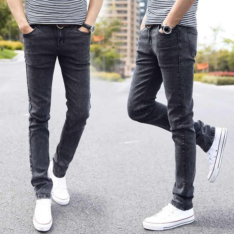 Desy Feeci Merek Pria Jeans Slim Fit Skinny Denim Jean Desainer Elastis Lurus Jeans Stretch Celana Jeans Untuk Pria Slim Fit Jeans Brand Jeans For Mendesigner Jeans For Men Aliexpress