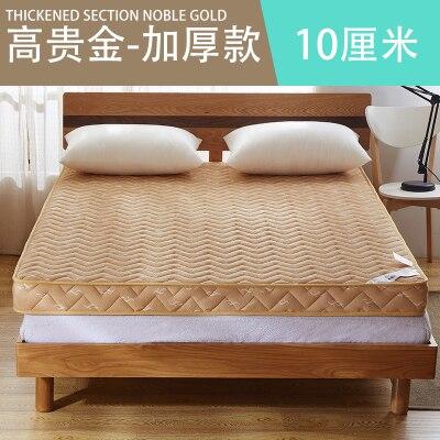 Colchón de dormitorio Vescovo de 6 10cm de espuma de memoria gruesa Tatami plegable para estudiantes para colchas familiares King Queen Twin tamaño completo