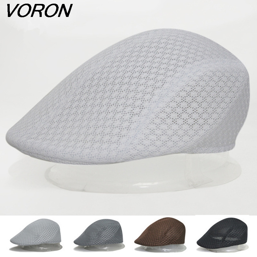 VORON Ms spring and summer men all outdoor mesh in the sealing air holes summer cool beret han edition sports cap