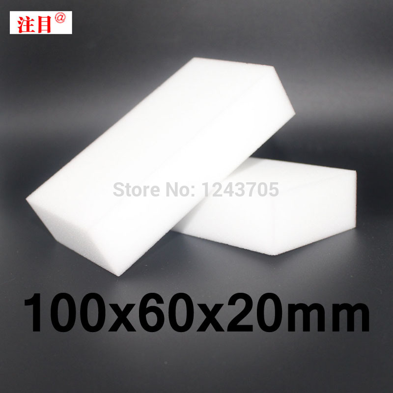 200 stks White Magic Cleaning Spons Eraser Melamine Cleaner multifunctionele Reiniging 100x60x20mm
