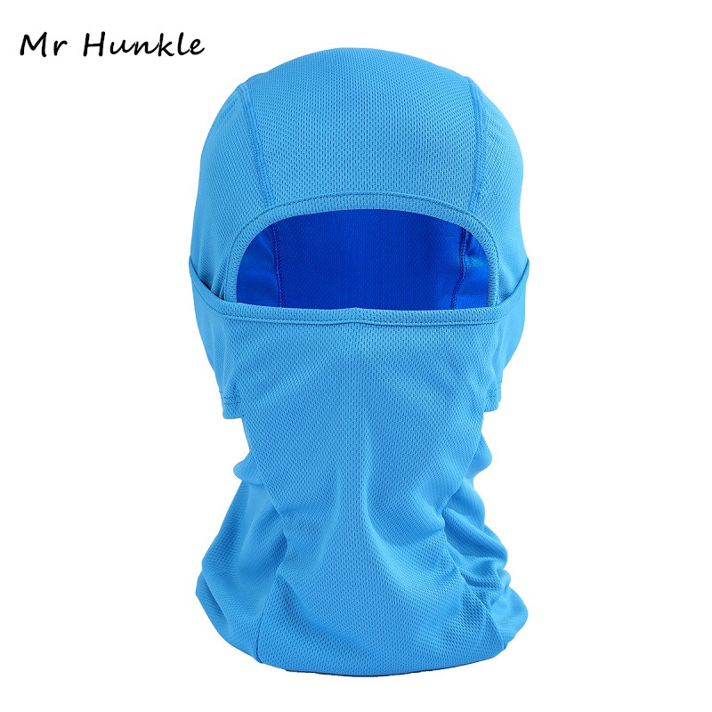 Mr Hunkle New Balaclava Unisex Men Women Lycra Stretch Face Mask Cover Neck CS Cap out door activities Helmet Liner Sun Hat life remembering jackie