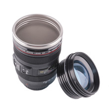 Fashion Sport Silicone Camera Lens Cup Mug Travel Water Cups And Mugs With  Lid Tumbler Outdoor Great Ideas