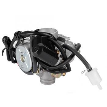 мотоцикл скутер 150cc | Алюминиевый карбюратор в сборе подходит для PD24J-A Gy6 150cc Поставка топлива Carburador De Moto Запчасти для мотоциклов