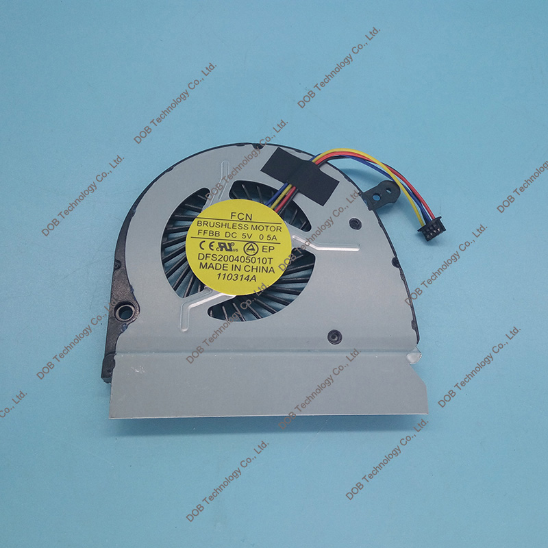 все цены на New CPU Cooler Fan For DELL VOSTRO 5460 V5460 V5470 5470 14z-3526 Left FORCECON DFS531005PL0T 5V 0.5A 0PPD50 PPD50