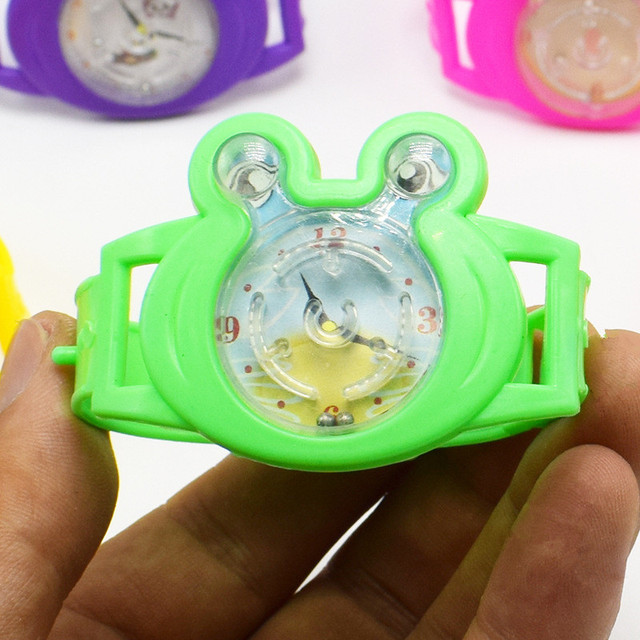 20pcs Pin Ball Game Fake Watch Toy Kids Birthday Party Favor Gift