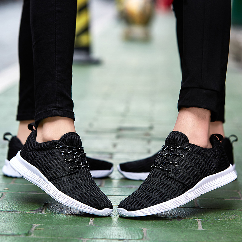 Valentine Shoes Woman Sport Casual Shoes Women Trainers Flat Heel Low Top Women Shoes Outdoor Air Mesh Runner Shoes Flats ZD66 (49)