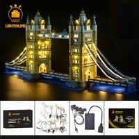 LIGHTAILING zestaw oświetlenia LED dla architektury London Tower Bridge zestaw światła kompatybilny z 10214 (nie zawiera modelu)