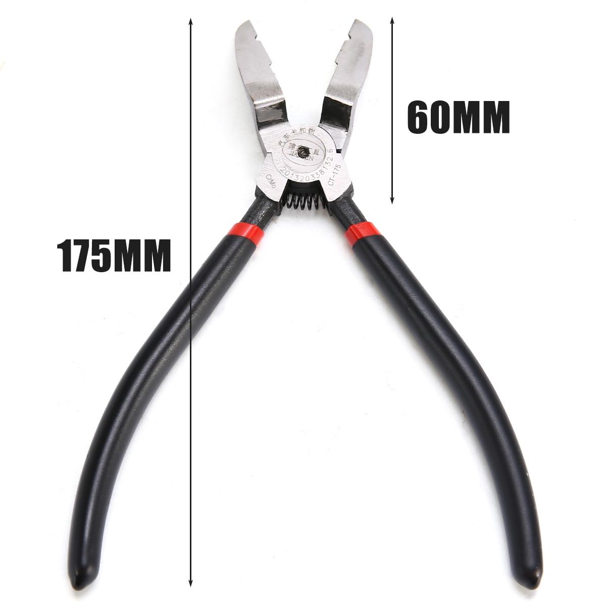 Mayitr 1pc 17.5cm Car Push Retainer Rivet Piler Trim Fastener Clip Panel Puller Plier Remover Tool for Honda Nissan BMW