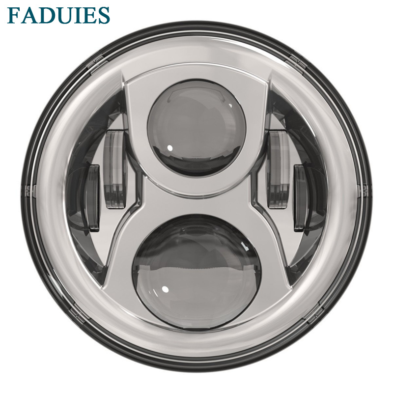 FADUIES 7 Inch  Projector LED Headlamp 7
