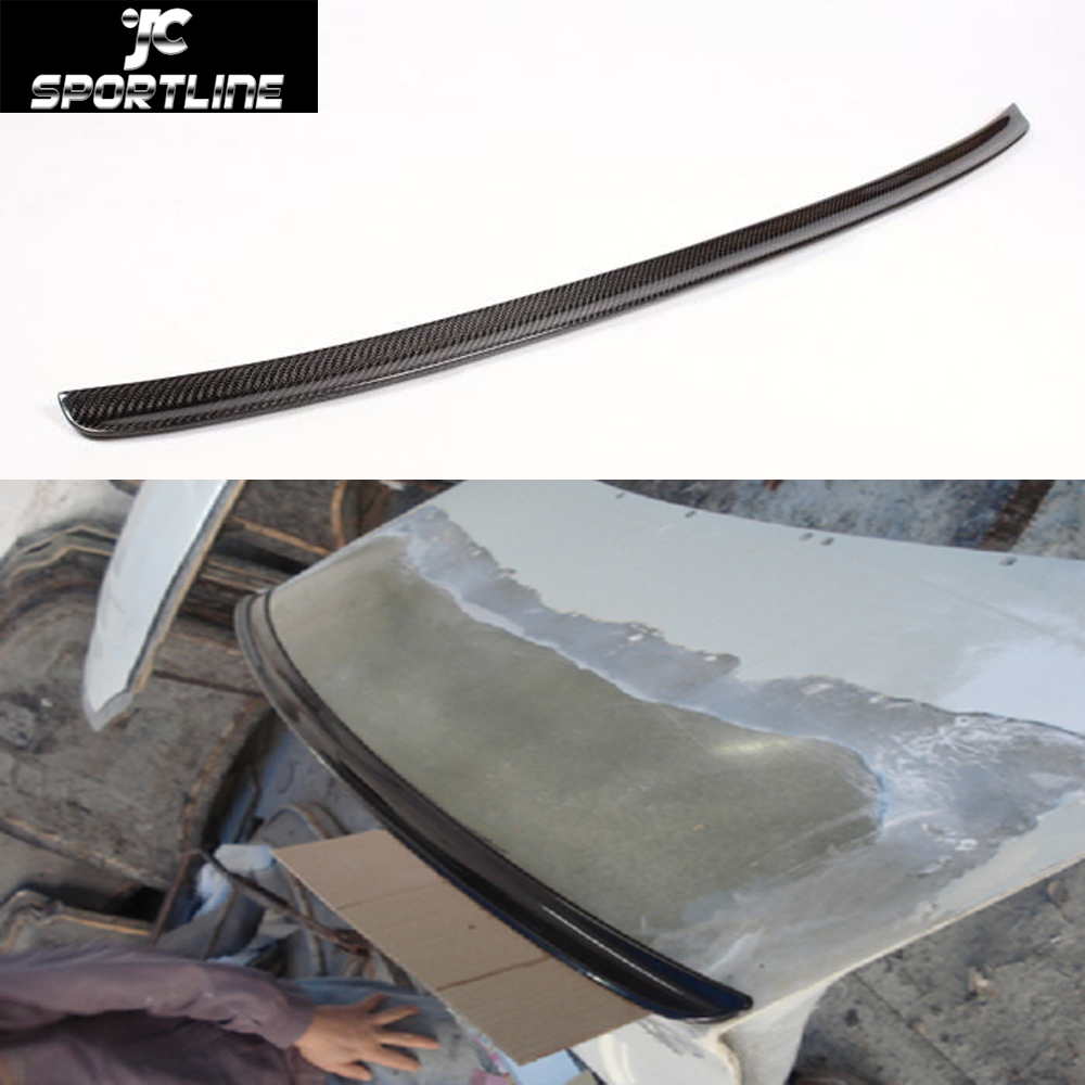 E46 M3 Car-Styling Carbon Auto Rear Spoiler Trunk Wing Lips For BMW 5Series E46 M3 4-Door 2001-2005