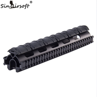 One Piece Tactical Tri Rail Handguard For G3 And Compatibles MNT TG3TR Free Shipping