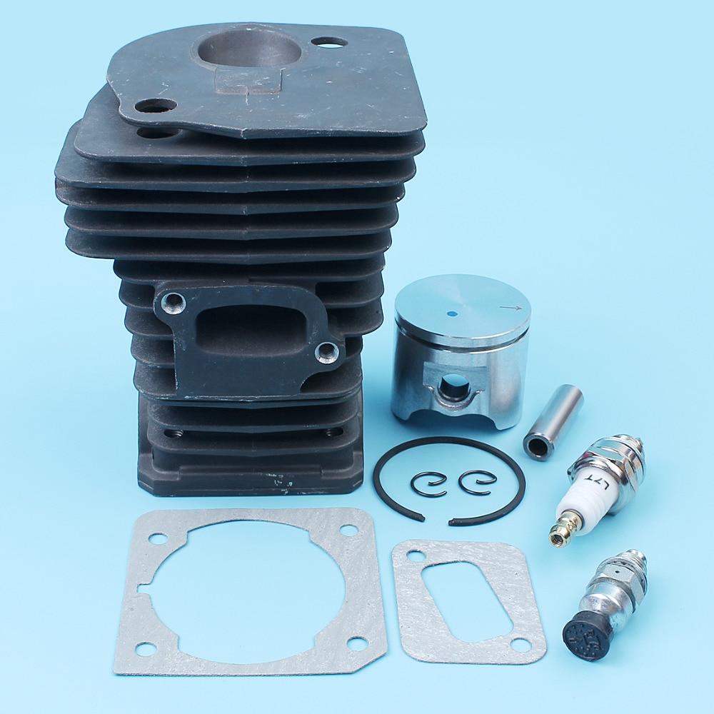 42mm Cylinder Piston Gasket Fuel Filter Kit For Jonsered CS 2141 2145 2150 EPA Husqvarna 340 345 Chainsaw 503870274,503870276