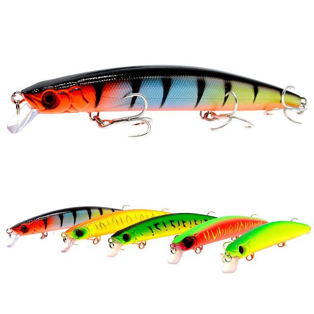 WLDSLURE  1Pcs/Lot Fishing Lure Minnow Bait 15cm 28g Bass Lures Quality Hard Artificial BaitsCarp Lure