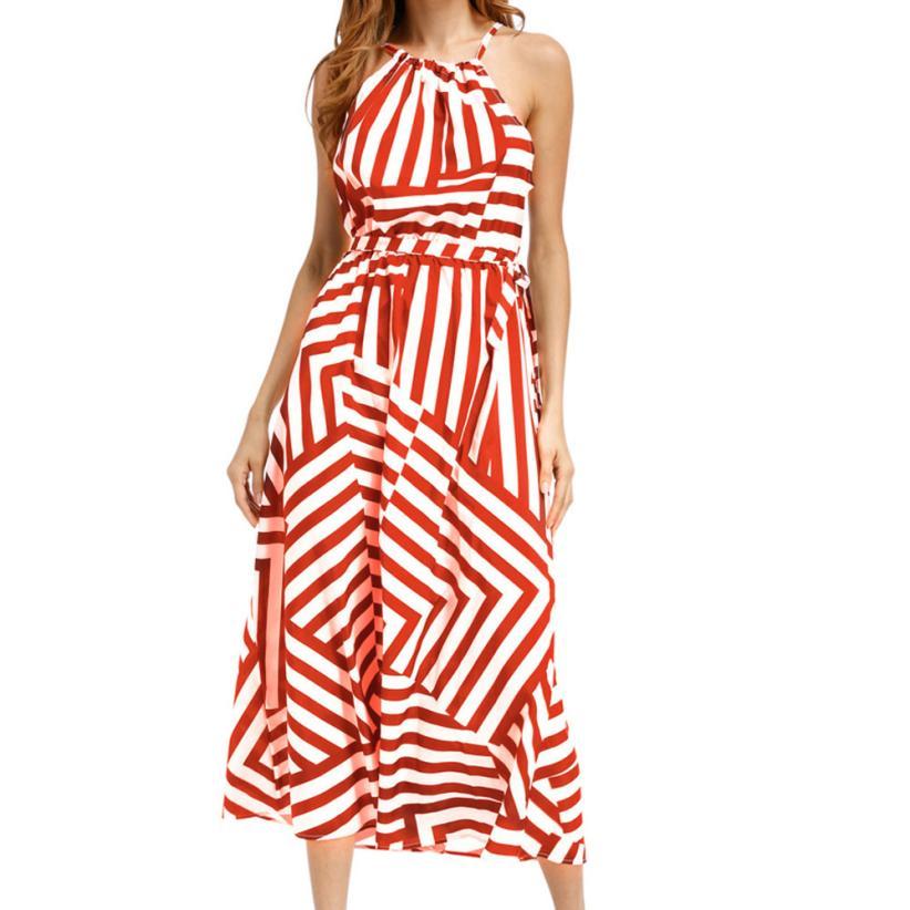 snowshine YLI Women Sexy Summer Boho Maxi Long Evening Party Beach Dress Sundress free shipping
