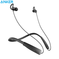 Anker SoundBuds Lite Bluetooth Headphones Wireless Lightweight Neckband Headset IPX5 Water Resistant Sport Earbuds Etc