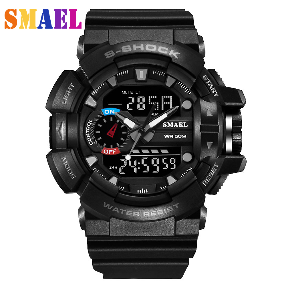 Military S Shock Sport Watch Wristwatches Relogio Masculino Electronic 90 G  Brand Men Sports Watches 50m Waterproof Digital LED