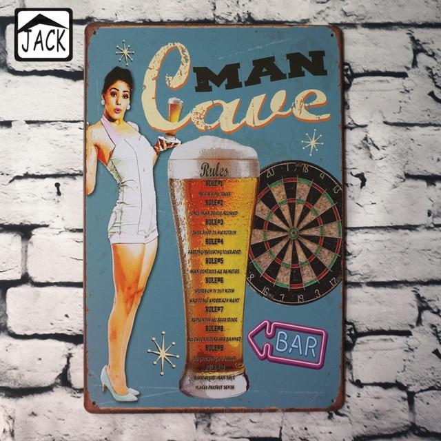 Aliexpresscom  Buy Man Cave Beer Hot Chick Advertising -7524