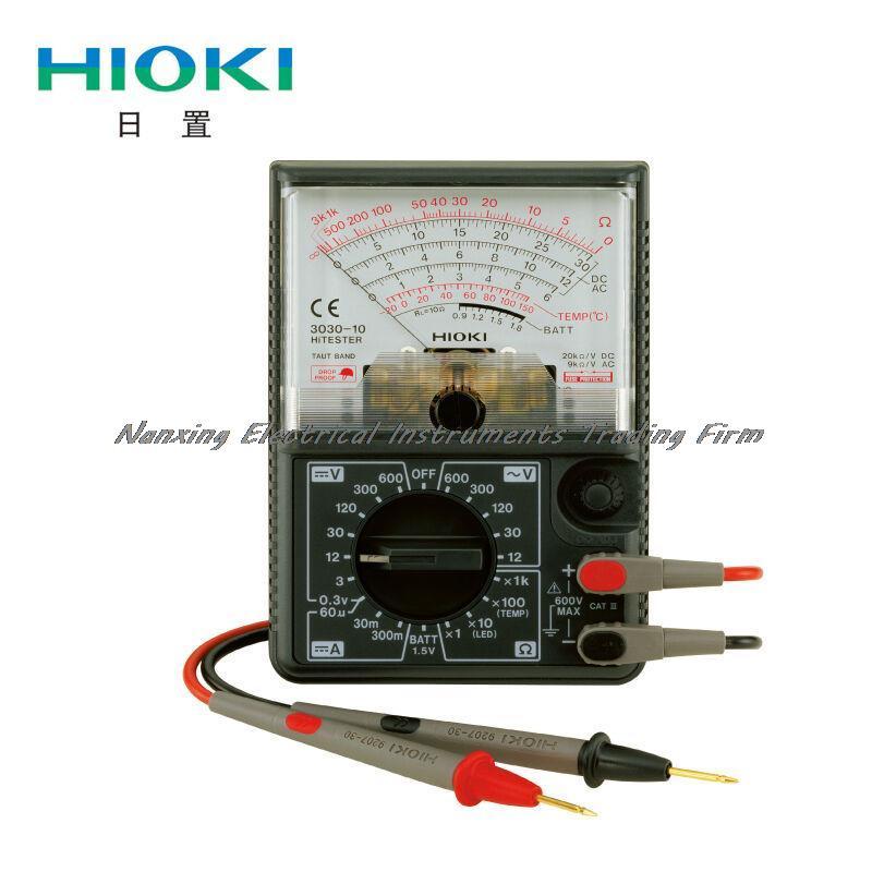 Fast arrival HIOKI 3030-10 Analog Multimeters 4 8 days arrival hioki 3030 10 analog multimeters