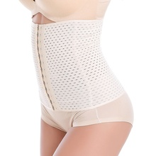 Shapers Waist  Slimming Belly Shapewear Abdomen Belt 4 rows of 13 buckle Pierced abdomen waist corset belt girdle