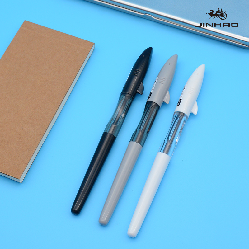 Jinhao Shark Gel Pen Neutral Pen Unicorn Pilot Pen Frixion Available For Children Students Use Corporate Office Stationery