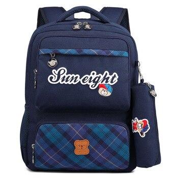 8e476755c3cb Водонепроницаемая детская школьная сумка рюкзак для начальной школы для  мальчиков детская сумка рюкзак ортопедический рюкзак книжная