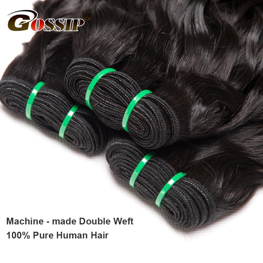 Water Wave Bundels Human Hair Extensions 100% Echt mensenhaar Bundels - Mensenhaar (voor zwart) - Foto 4