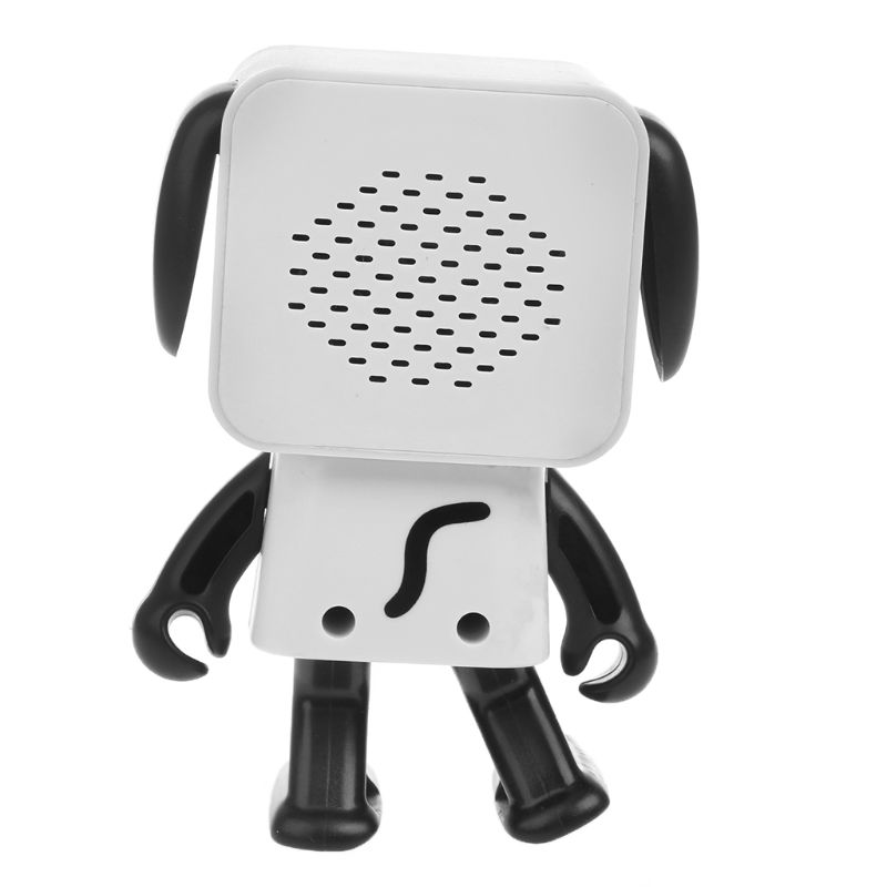 New Cute Speaker Smart Dancing Robot Music Dog  Wireless Bluetooth Hands