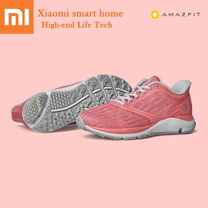 Chaude Xiaomi Amazfit antilope lumière chaussures intelligentes chaussures de sport de plein air en caoutchouc confortable respirant baskets femmes pour Xiaomi maison