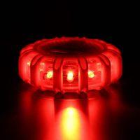 Notfall Warnung Alarmierend LED Sicherheits Straße Flare Magnet Bottom Blinkende Nachthimmel Straße Disk