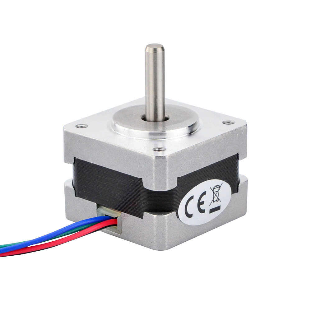 hight resolution of detail feedback questions about nema 14 stepper motor 12v bipolar 1 8deg high torque 14ncm 20oz in 0 4a 35x35x26mm 4 wires for cnc on aliexpress com
