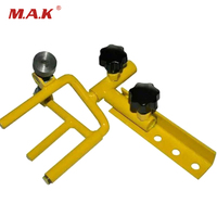 Metal Archery Parallel Universal Bow Vise in Yellow Color for Compound Bow Hunting Archery