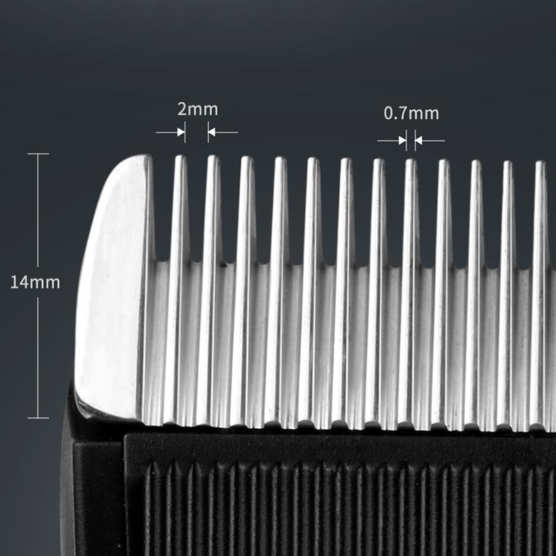 -Shinon tondeuse à cheveux sans fil et Rechargeable ensemble tondeuse à cheveux barbe Machine de découpe Kit Eu Plug - 3