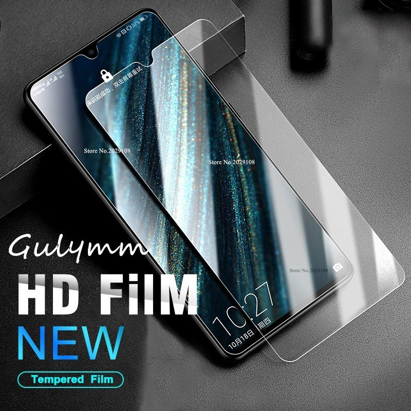 Glass For Huawei Mate 20 P30 P20 Pro Lite Tempered Glass Protection Screen Protector On Honor 20 10 i 8A 8C 8S Protective Film in Phone Screen Protectors from Cellphones Telecommunications