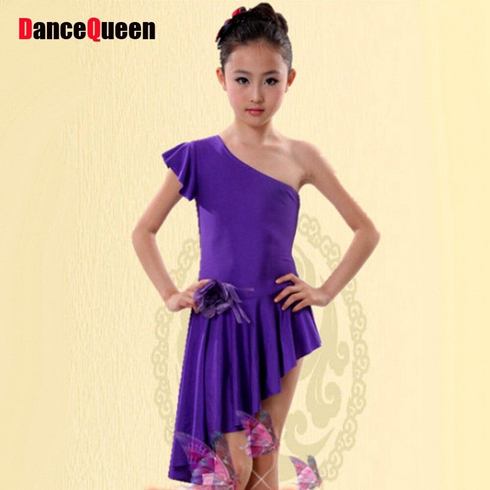 b25d3b85 っLatin tańca Towarzyskiego Suknie Fioletowy/Czerwony/Różowy ...