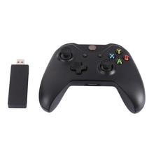 Новый 2.4 ГГц Беспроводной Регулятор Joypad Игры с Контроллером Приемника Игровой Геймпад для Xbox One и Microsoft Портативных ПК