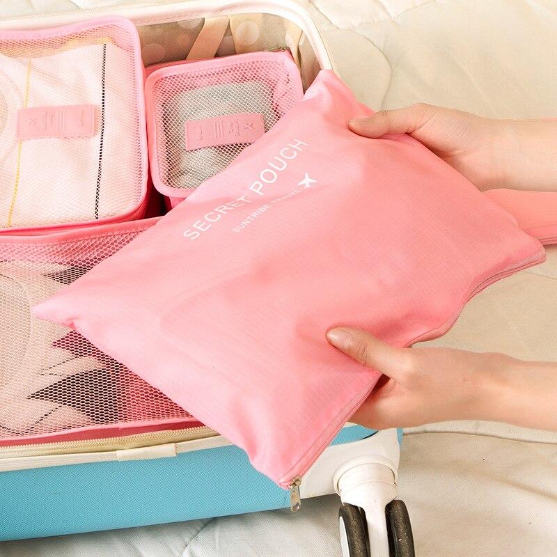 nova nylon cubo embalagem sacolas Gender : Travel Men Women