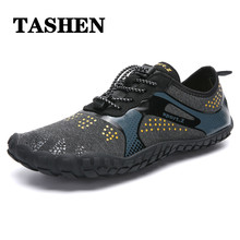 2019 Outdoor mens water shoes gym Women Aqua Swimming Footwear Seaside Cheaper Breathable Quick dry Beach Five fingers Shoes
