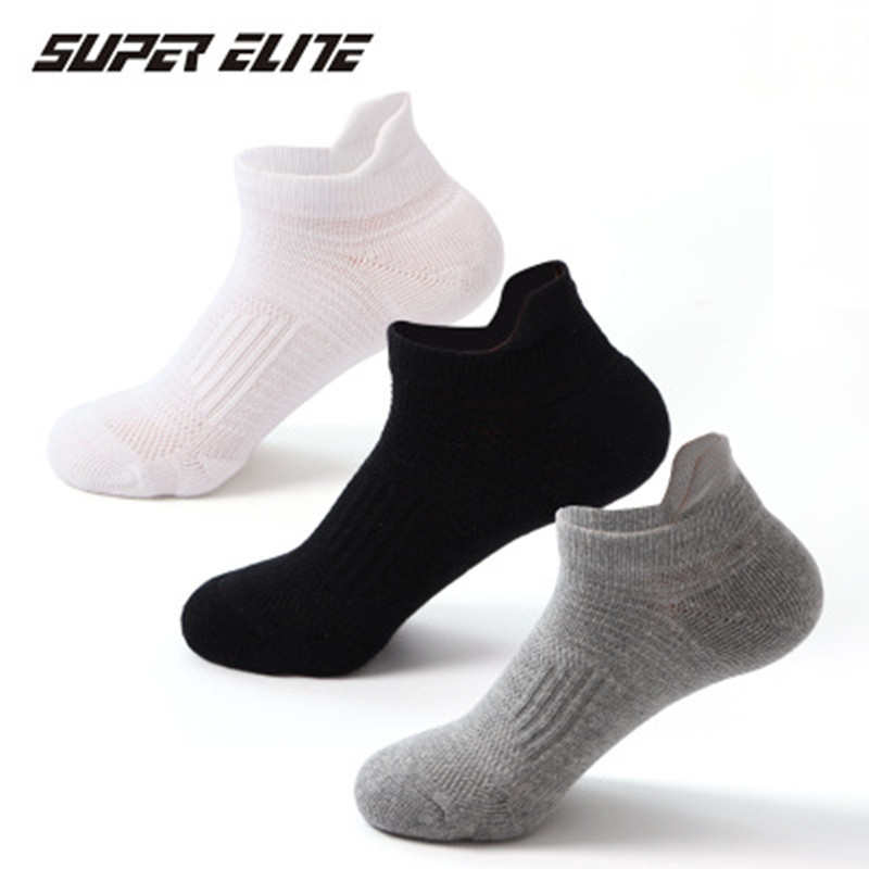 Super Elite Professional Fitness Running Sport Compression Socks Cotton Breathable Cycling Basketball Socks Quick-Dry Sport Sock sock