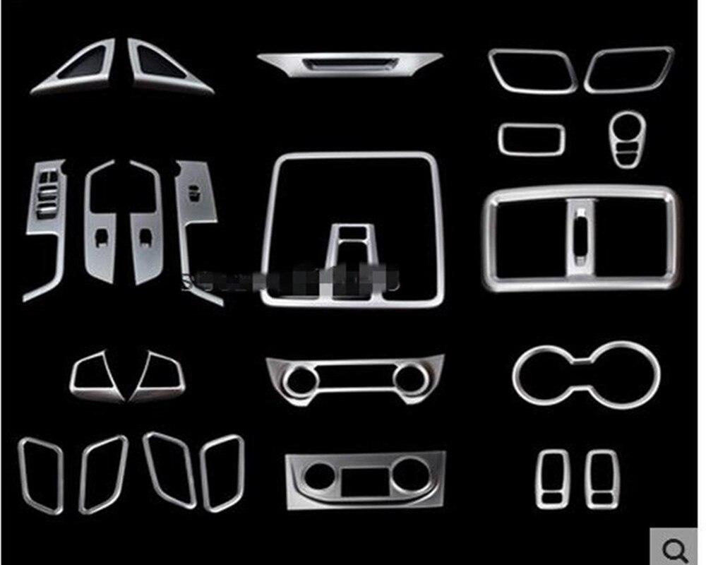 Autocollants de panneau de Console centrale décoration intérieure de cadre de Sequin pour Hyundai Creta IX25 2016 accessoires Auto voiture-style