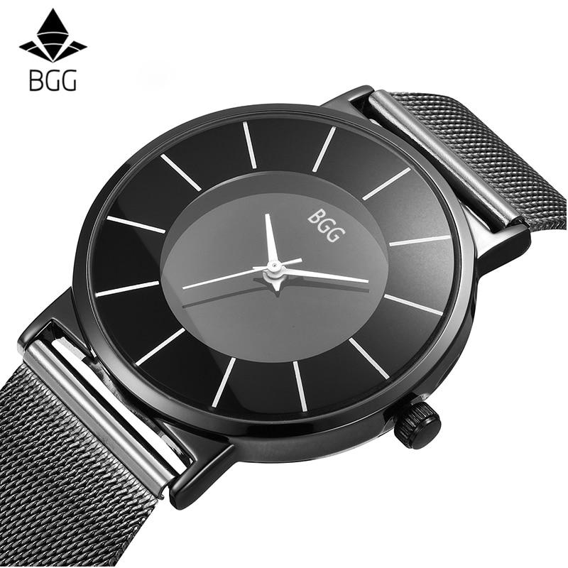 Ultra thin simple design women Quartz watches elegant charm ladies Casual wristwatch steel mesh strap luxury brand clock hours цены