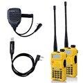 2PCS Baofeng UV-5R Walkie Talkie Hf transceiver Radio Case 5W 128CH UHF VHF Radio +1X Speaker Mic +1X USB Cable