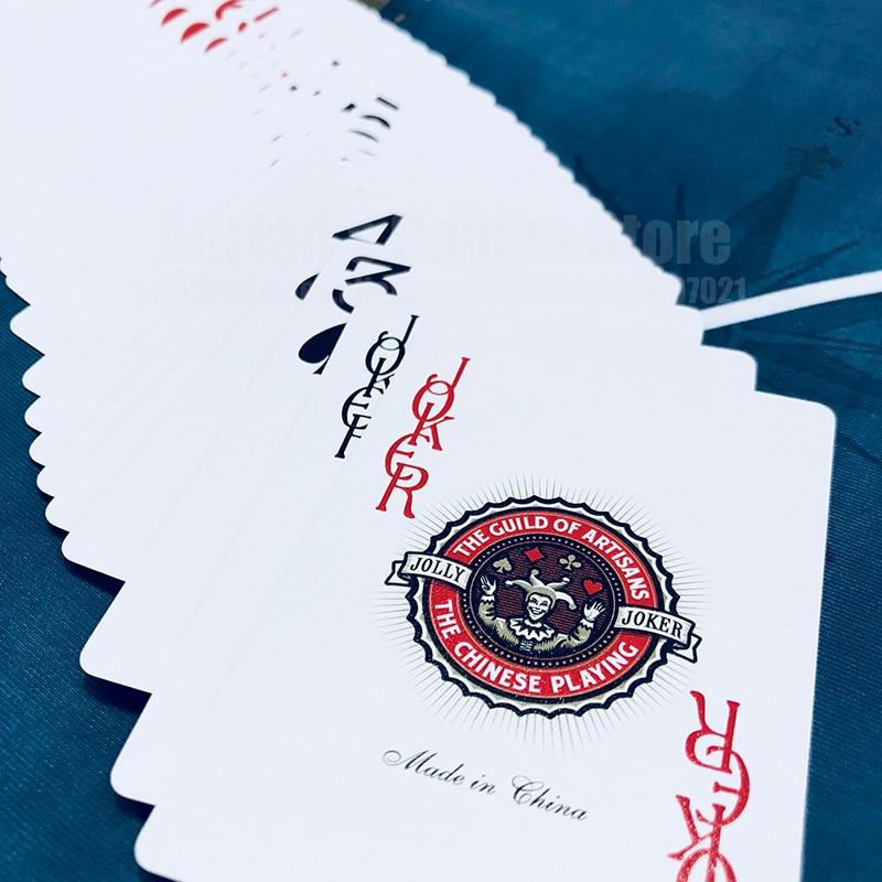 Emas Plastik Bermain Kartu, Kartu Nomor Besar Pokerstars Profesional - Hiburan - Foto 3