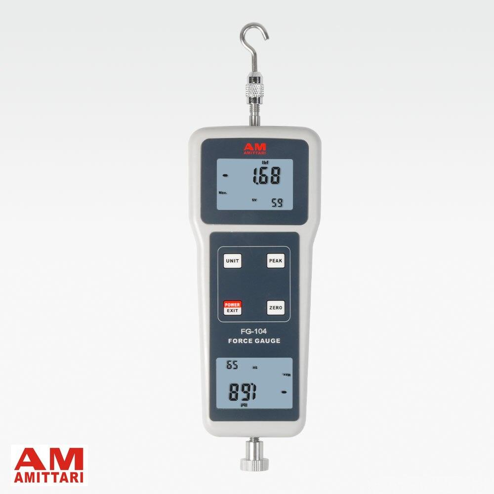 Бренд натуральной amittari цифровой push pull Force Gauge метр тестер динамометр newtonmeter растяжение кгс GF N LBF 980N 220Lbf