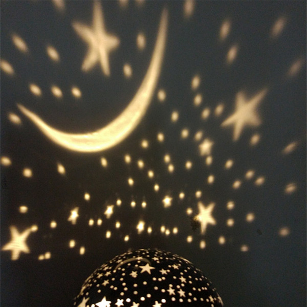 Aliexpress.com : Buy 2018 New Romantic Rotating Stars and Moon Sky ...