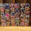 6 Hojas Súper Alas pegatinas de pared para niños decoración para el Hogar en laptop lindo etiqueta engomada del coche calcomanía nevera juguete garabato Superwings 3D pegatinas