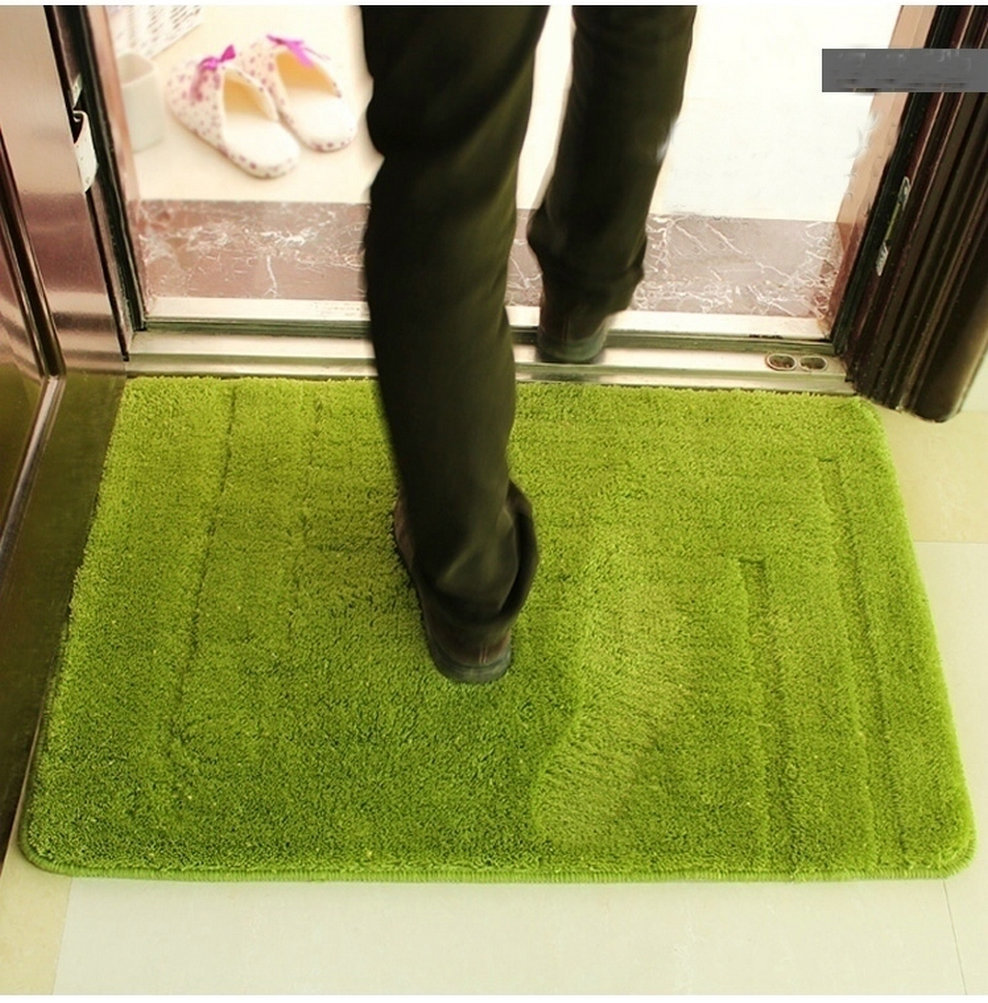 NiceRug Green Lawn Water Absorption Long Plush Shaggy Rugs Anti Skid Area  Rug Dining RoomOnline Get Cheap Green Area Rugs  Aliexpress com   Alibaba Group. Green Living Room Rug. Home Design Ideas